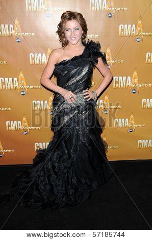 Julianne Hough at the 44th Annual CMA Awards, Bridgestone Arena, Nashville, TN.  11-10-10