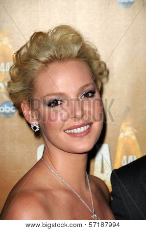 Katherine Heigl at the 44th Annual CMA Awards, Bridgestone Arena, Nashville, TN.  11-10-10