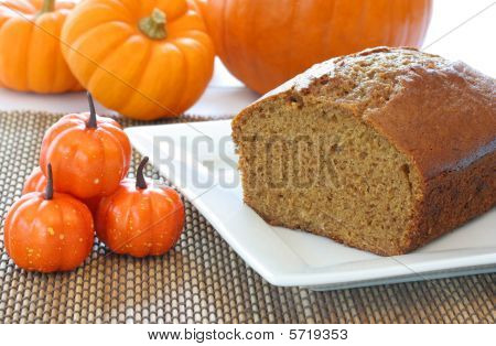 Pumpkin Bread and Pumpkins