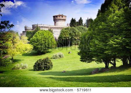 Medieval Castle In Tuscany