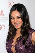 Mila Kunis at the St. Jude Children's Research Hospital 50th Anniversary Gala, Beverly Hilton, Bever