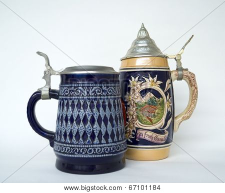 Two Beer Stein
