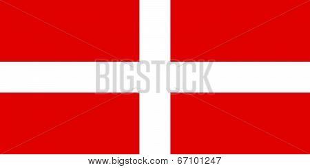Flag Of Order Of Malta