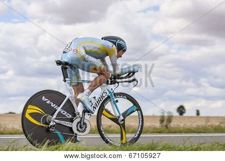 The Cyclist Janez Brajkovic