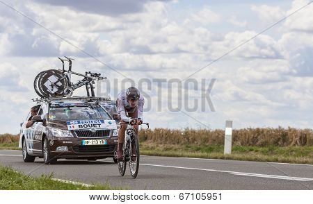 The Cyclist Maxime Bouet