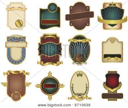 Twelve Customizable  Templates