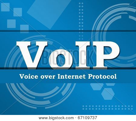 Voip Business Theme Background