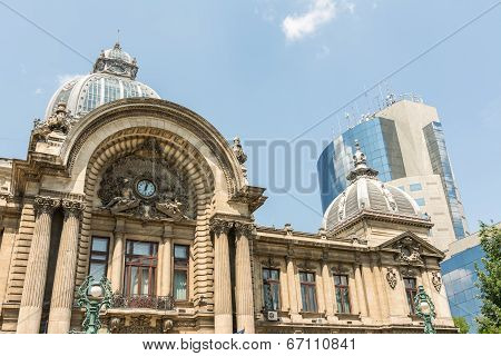 CEC Bank In Bucharest