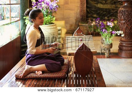 traditional gamelan instrument
