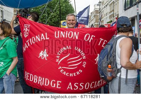 National Union of Teachers Banner