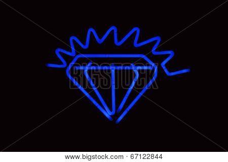 Neon Diamond