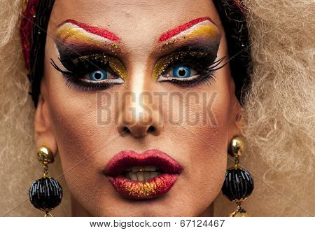 Portrait Of A Transgender