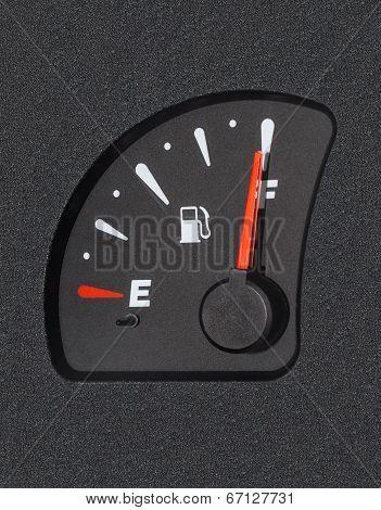 Fuel Gauge Showing Full Tank