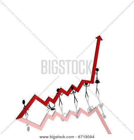 Stick Figures Chart