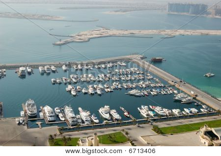 Dubai Marina Yacht Parking, Dubai, Uae