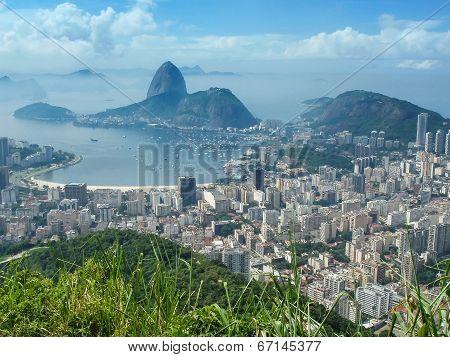 View Of Rio Citycsape