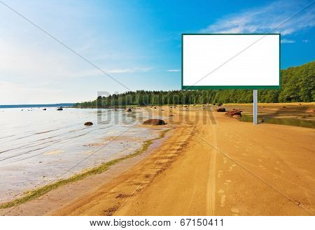 Billboard On The Beach