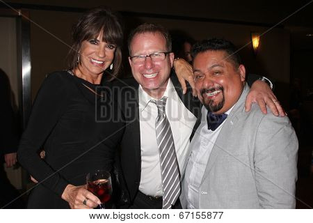LOS ANGELES - JUN 20:  Jess Walton, Craig Astrachan, George Guzman at the 2014 Creative Daytime Emmy Awards at the The Westin Bonaventure on June 20, 2014 in Los Angeles, CA