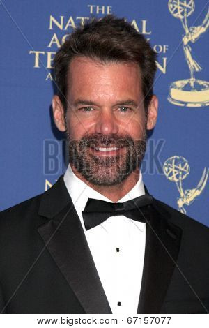 LOS ANGELES - JUN 20:  Tuc Watkins at the 2014 Creative Daytime Emmy Awards at the Bonaventure Westin on June 20, 2014 in Los Angeles, CA