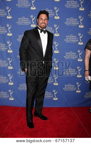 LOS ANGELES - JUN 20:  Don Diamont at the 2014 Creative Daytime Emmy Awards at the The Westin Bonaventure on June 20, 2014 in Los Angeles, CA