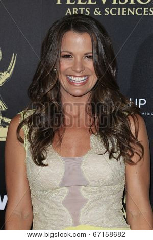 BEVERLY HILLS - JUN 22: Melissa Claire Egan at The 41st Annual Daytime Emmy Awards at The Beverly Hilton Hotel on June 22, 2014 in Beverly Hills, California