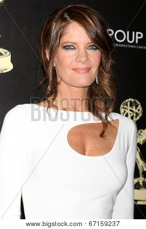 LOS ANGELES - JUN 22:  Michelle Stafford at the 2014 Daytime Emmy Awards Arrivals at the Beverly Hilton Hotel on June 22, 2014 in Beverly Hills, CA