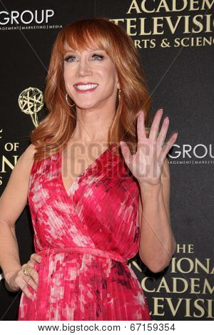 LOS ANGELES - JUN 22:  Kathy Griffin at the 2014 Daytime Emmy Awards Arrivals at the Beverly Hilton Hotel on June 22, 2014 in Beverly Hills, CA