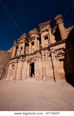 Monastery In Petra, Wonder Of The World