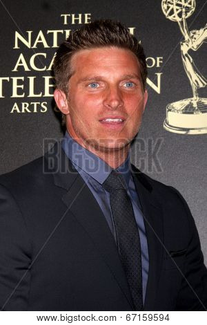 LOS ANGELES - JUN 22:  Steve Burton at the 2014 Daytime Emmy Awards Arrivals at the Beverly Hilton Hotel on June 22, 2014 in Beverly Hills, CA