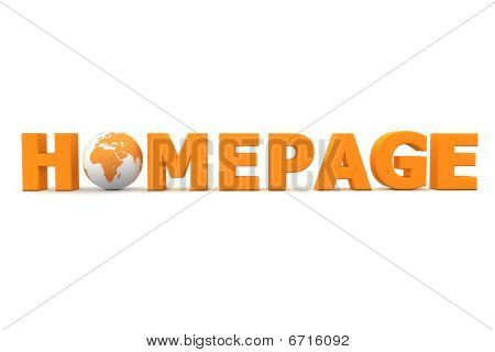 Homepage World Orange
