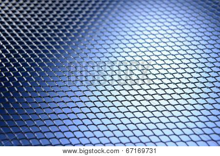 Metal texture close-up
