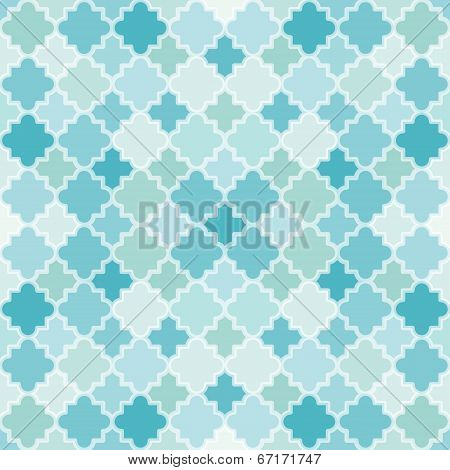 Abstract Turquoise Pattern