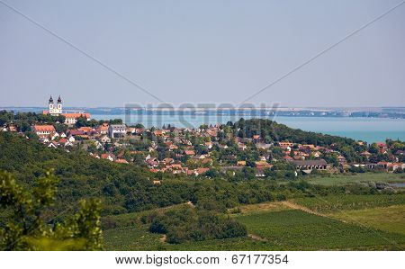 Panoramic View Of Tihany