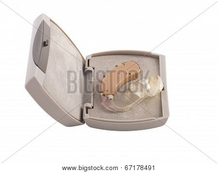 Hearing Aid In Box