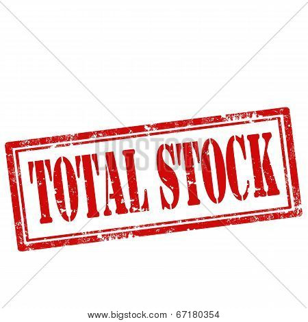 Total Stock-stamp