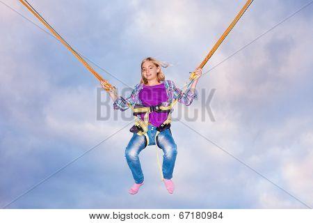 Enjoying Jumping