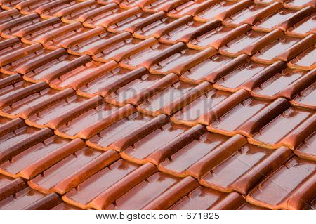 Orange Roofing Tiles
