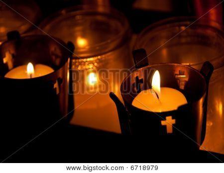Kerzen des Glaubens