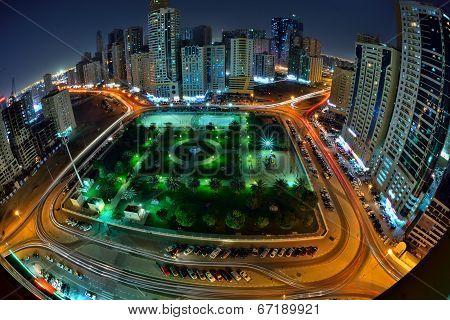 Sharjah in Night