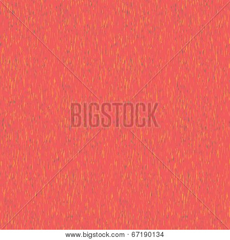 Abstract noisy rain pattern in tender pink (seamless vector)