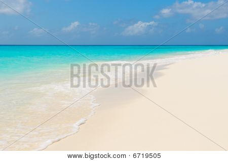 Tropical Beach, Ilhas de Los Roques, Venezuela