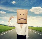 pic of bad mood  - concept photo of bad mood - JPG