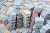 picture of paving  - Tile paving - JPG