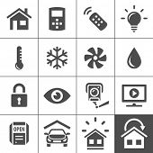 picture of temperature  - Smart Home and Smart House Icons - JPG