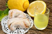 stock photo of sugar paste  - fragrant and sweet Sicilian almond paste with sugar and lemon liquor - JPG