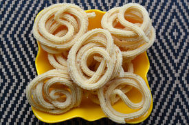 picture of urad  - Murukku is a traditional savory crunchy snack of Tamil Nadu - JPG