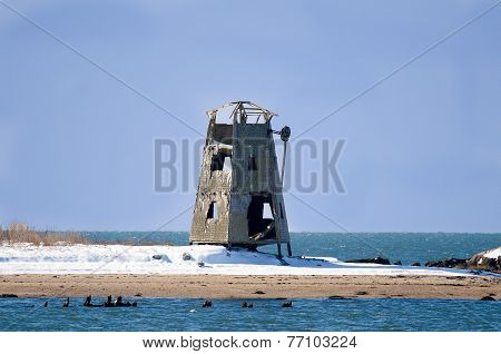 Decrepit Windmill