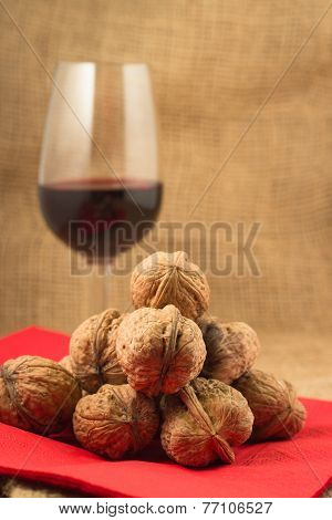 Walnuts And Red Wine