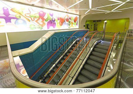 Escalators Universita Napoli