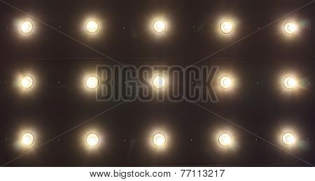 Light on Ceiling